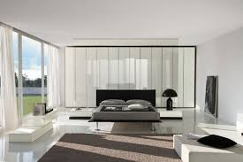 cozy image of modern furniture for white bedroom design and