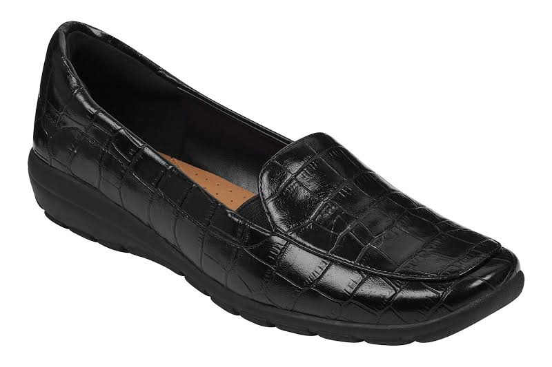 Easy Spirit ABRIANA 3 Black Croco