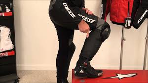 motorcycle racing boots for sale dainese in boot explained from sportbiketrackgear com youtube