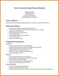 Financial Planner Resume Sample by Financial Planning Analyst Cover Letter
