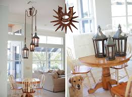 lucky old sun ranch lantern and chandelier pottery barn