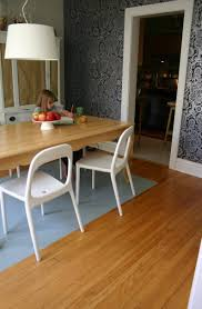 modern dining room rugs rectangular sturdy varnished wooden dining