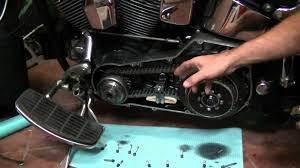 primary chain adjust harley davidson softail heritage evo youtube