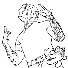 jeff hardy coloring pages 20 free printable jeff hardy coloring