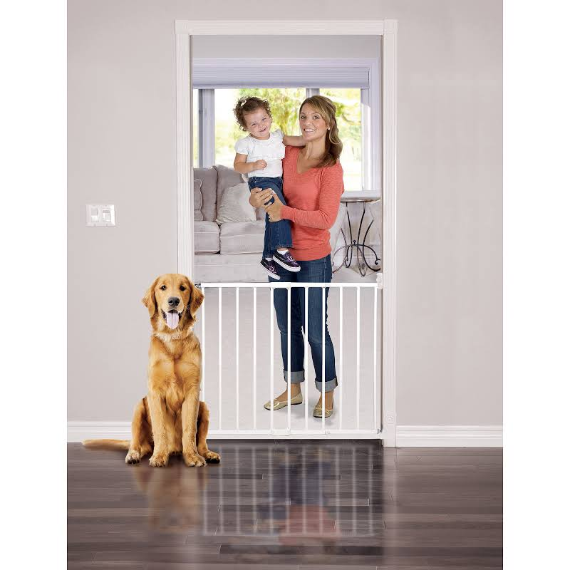 Baby Trend Gt01wh1 Home 6 To 24 Months Extending Metal Stairs Safety Baby Gate