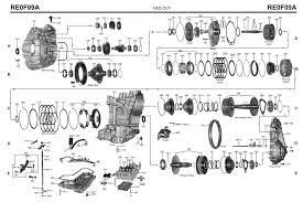 transmission repair manuals cvt re0f09a jf010e instructions for