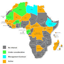 Map Of Mali Africa by France Telecom Orange Major African Mobile Markets Future Growth
