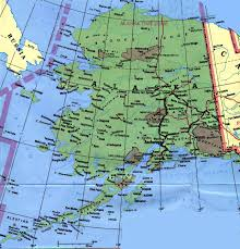 Map For United States by Alaska Physical Map Usa
