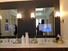 Bathroom Mirror With Lights Built In by Bathroom Mirror With Lights Built In Home Design Ideas