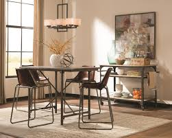 donny osmond kirkwood 5 pc counter height dining room set