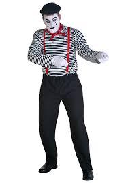 Mens Halloween Costumes Amazon Amazon Mime Costume Clothing