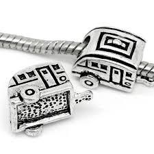 chamilia halloween beads amazon com antique silver camper r v european pandora style charm