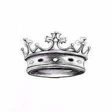 왕관도안|왕관을 쓴 사자문신도안이에요