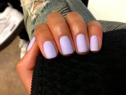 we need this matte pastel purple in our lives nailed
