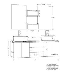 Bathroom Vanities Buy Bathroom Vanity Cabinets And Bathroom - Height of bathroom vanity for vessel sink
