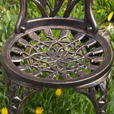 Cast Iron Patio Set Table Chairs Garden Furniture - best choice products cast aluminum patio bistro furniture set in