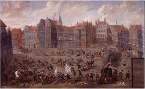 English Fury at Mechelen