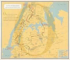 Map New York City by Nonstop Metropolis A New York City Atlas Rebecca Solnit Joshua