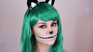 dead makeup halloween cheshire cat make up tutorial halloween make up tutorial youtube