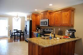 kitchen attractive l shape open floor plan kitchen design and