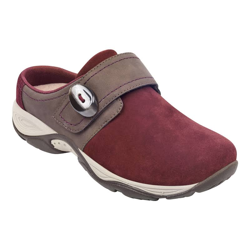 Easy Spirit Equip Shoes Burgundy- Womens