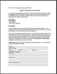 An Example of a Research Proposal   University of Hull Research Proposal Example An Example of
