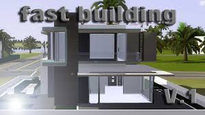 Small House Build Sims 3 Speed Building Small Modern House V 1 Ihdi Youtube