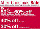 AFTER CHRISTMAS SALES | Online Shopping Blog