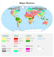 Diagram Of The World Map by Biomes Of The World Asu Ask A Biologist United States Biome Map