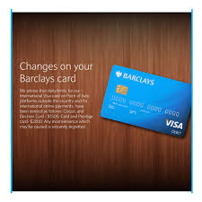 Barclays Credit Card Business We Advise That Daily Limits For Our Barclays Bank Of Zimbabwe
