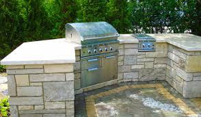 outdoor kitchens hirsch brick and stone