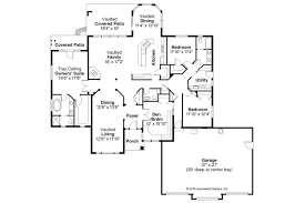 Ranch House Plan by Ranch House Plans Meadow Lake 30 767 Associated Designs