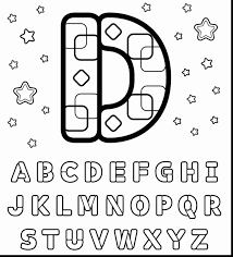 spectacular printable letter coloring page with letter d coloring