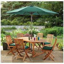 Best Wood Patio Furniture - patio table umbrella home design by fuller