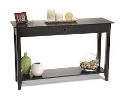Bargain Living Room Furniture Amazon Com Convenience Concepts American Heritage Console Table