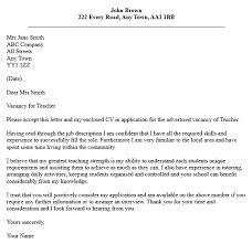 English Teacher Cover Letter Sample Mr  Resume