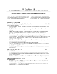 Engineering Project Manager Resume Sample by Resume Example Telecommunication Engineer Resume Ixiplay Free
