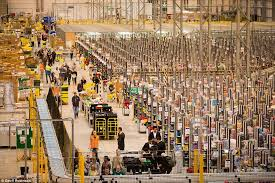 black friday deals amazon uk amazon staff prepare for black friday daily mail online