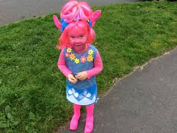 trolls costume home made halloween costume or party fancy dress