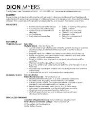 personal trainer resume examples 9 amazing personal services resume examples livecareer babysitter resume example