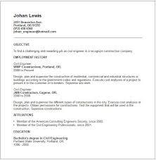 civil engineering resume examples engineering resume examples