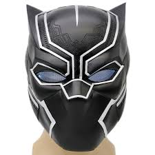 halloween costume mask xcoser black panther mask helmet props for halloween costume