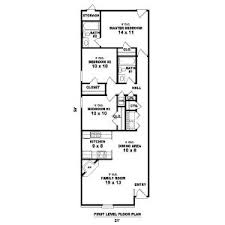 Small House Floor Plan by Best 25 Narrow House Plans Ideas That You Will Like On Pinterest