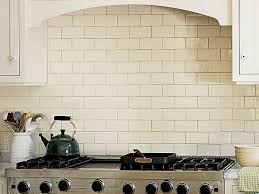 Shade Of White Subway Tile Backsplash With White Cabinets - Crackle subway tile backsplash