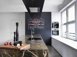 Marble Island Kitchen 23 Kitchens With Chalkboard Paint