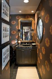 31 best powder room wallpaper images on pinterest room bathroom