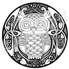 Celtic Owl Tattoo Design Picture 3