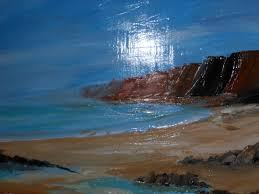 peinture de bord de mer marielle paccard marie chavarin le bord de mer et ses falaises