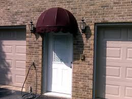 fabric awnings inspiring doors amp windows front door awning