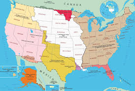 Oldest Map Of North America by Historical Map Of United States
